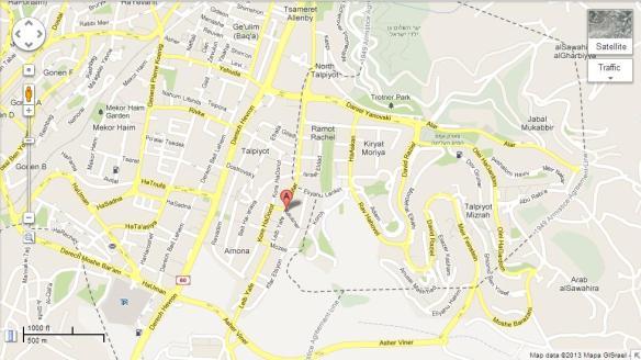 Map of Klausner 12