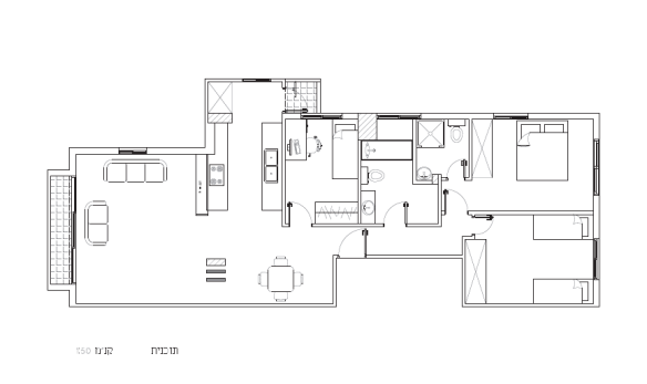 HaPalmach floor plan