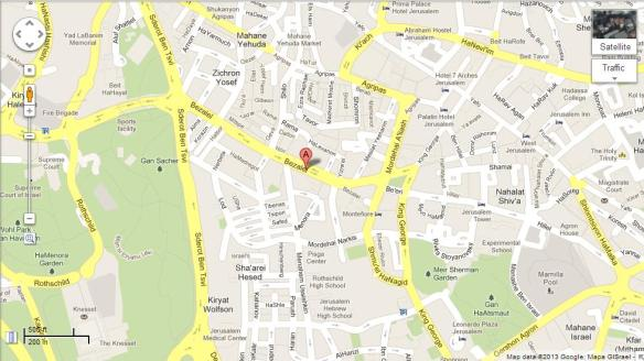 Betzalel 13 map