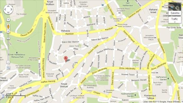 Map Metudela