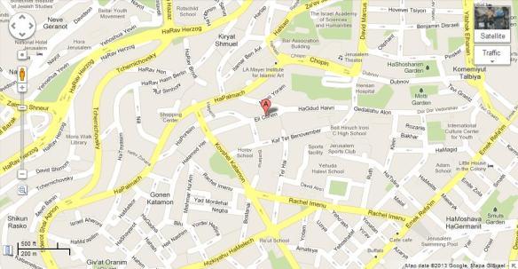 Map of Eli Cohen 4