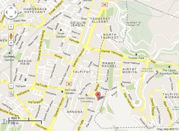 Map- Klausner Drimer