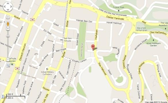 Primo Levi Map