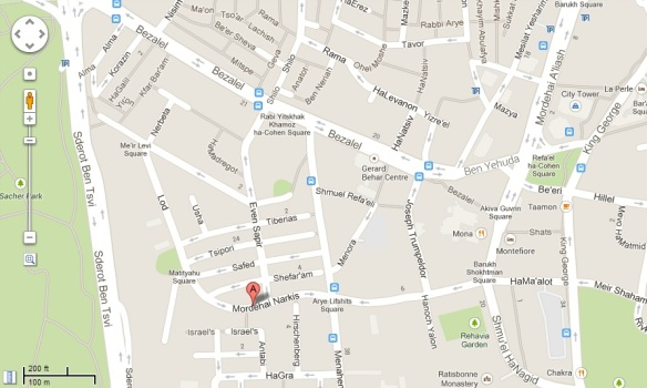 Narkis map