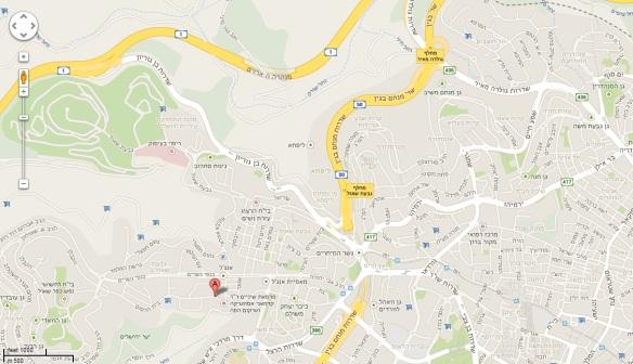 Beit Hadfus 12 map