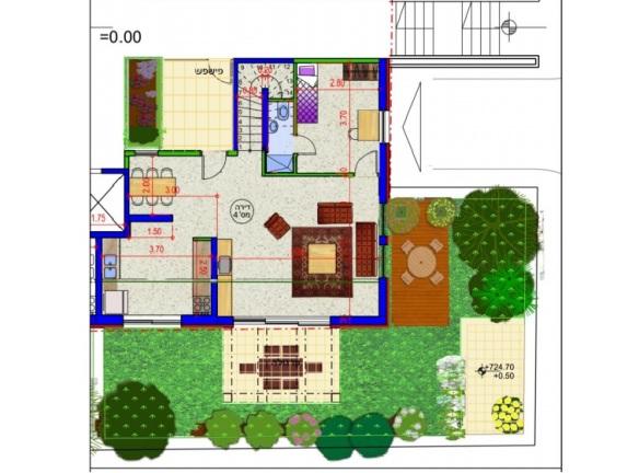 Mekor Chaim - 6rm duplex 1st floor