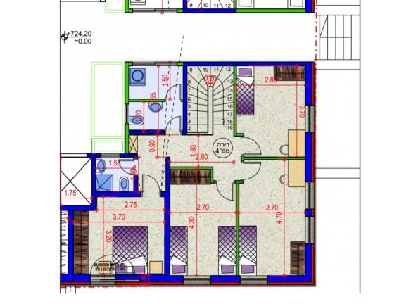 Mekor Chaim - 6rm duplex 2nd floor