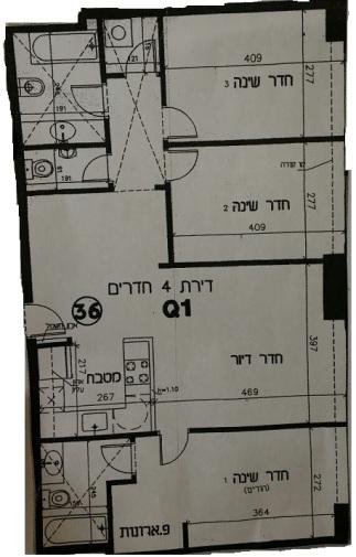 windows 3 bedroom fl plan
