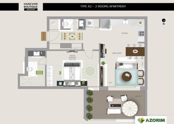Sample 2 bedrooms