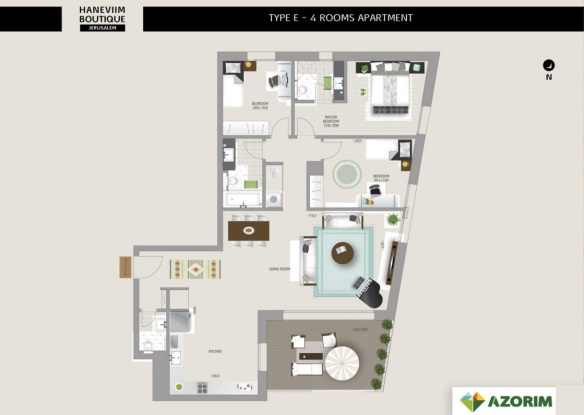 Sample 3 bedrooms