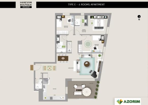 Sample 3 bedrooms