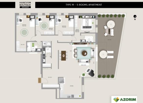 Sample 4 bedrooms