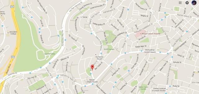 bnei batera map
