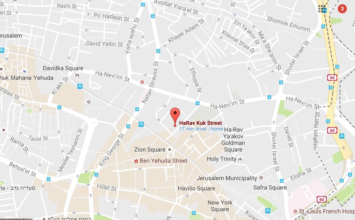 For Sale Three Bedroom Apartments in Rav Kook 7 in City Center
