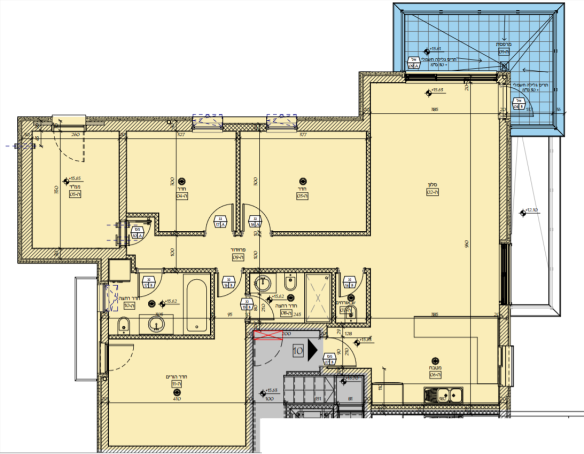 Leib Yafe floor plan